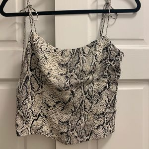 "Brand NWOT Reformation ""Meyer"" top size 4"
